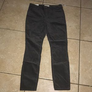 Pacsun Velour Skinny Pants Size 29 NWT